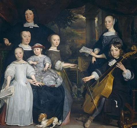 David Leeuw, koopman te Amsterdam door Abraham van den Tempel