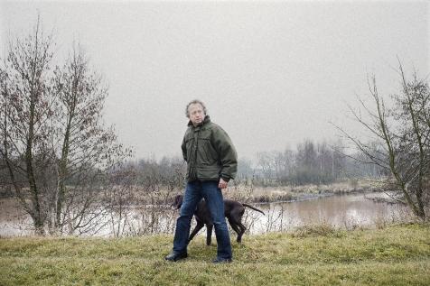 Bleker op zijn landgoed in het Oost-Groningse Vlagtwedde, waarvoor hij in 2005 zo'n 175.000 euro aan subsidie ontving voor natuurontwikkeling