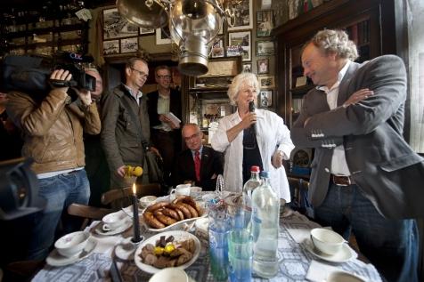 Met Commissaris van de Koningin Karla Peijs in Zeeland