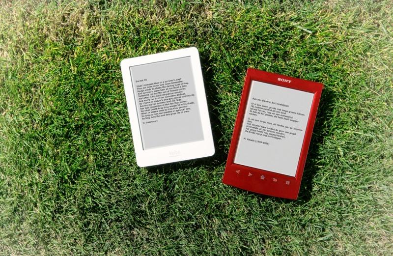 Ban de boom, koop een e-reader