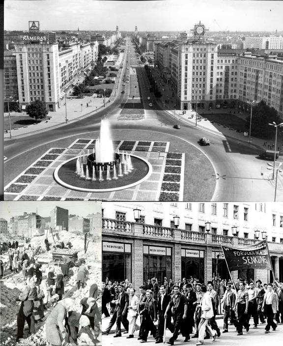 Foto's uit de jaren vijftig uit het archief van café Sybille.