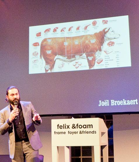 Joël Broekaert tijdens VN Extravaganza. Foto: Rolf Rosing
