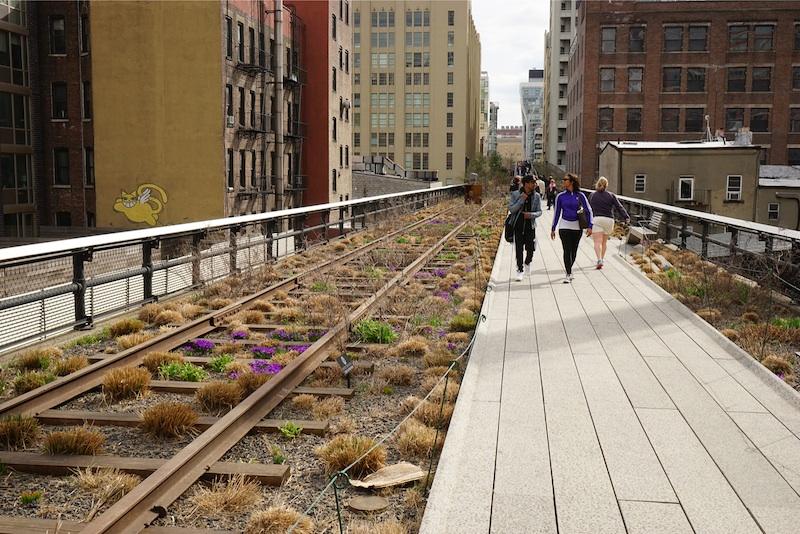 De High Line in New York. Foto: Piet Oudolf