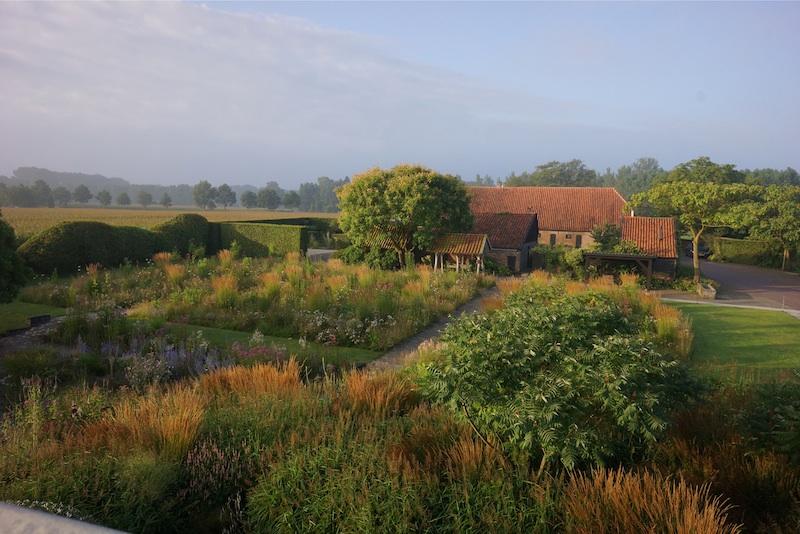 De verbouwde boerderij De Koesterd in Hummelo. Foto: Piet Oudolf