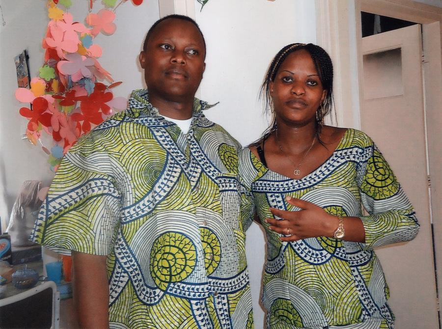 Jean Claude met zijn vrouw Jeanette. Foto: Privéarchief Iyamuremye
