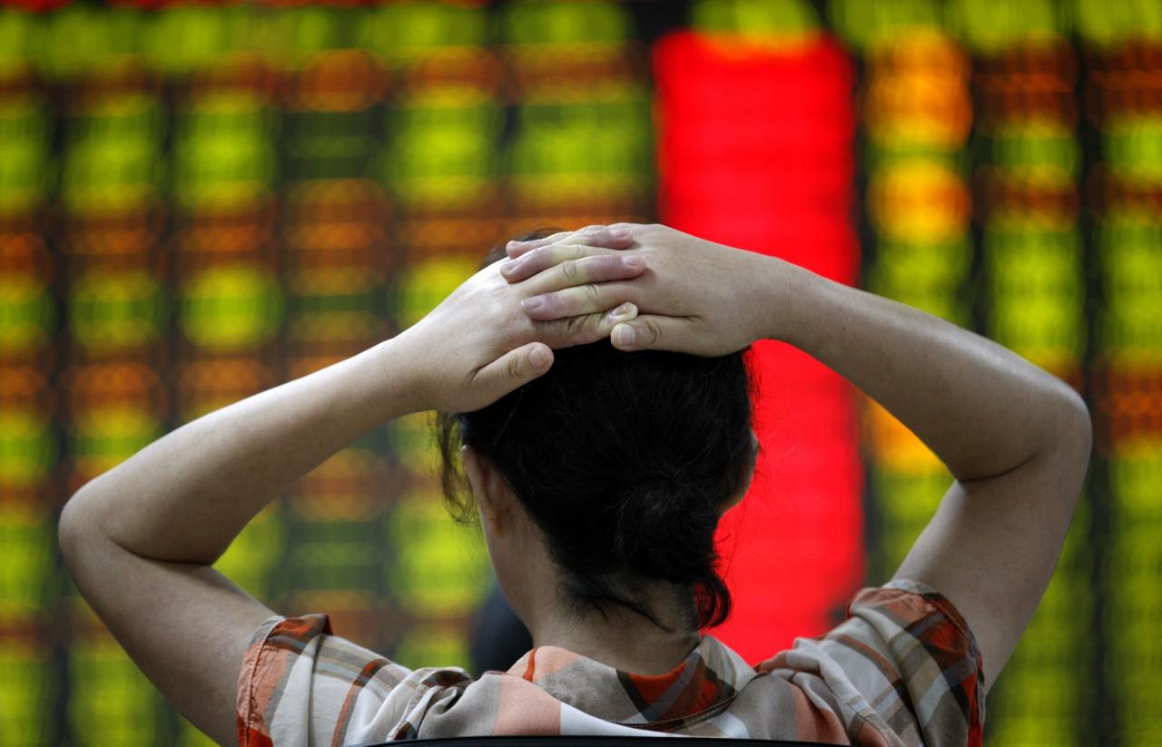 9 juli: paniek op de beurs in Shanghai