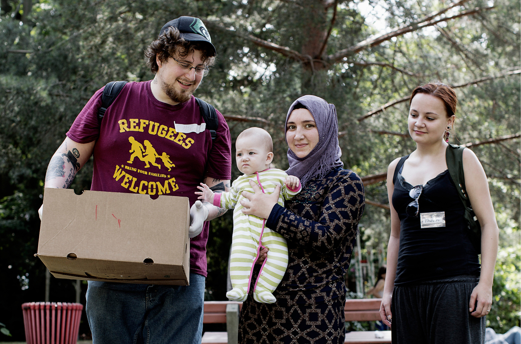 De ware Gutmenschen: Duitse burgers helpen vluchtelingen