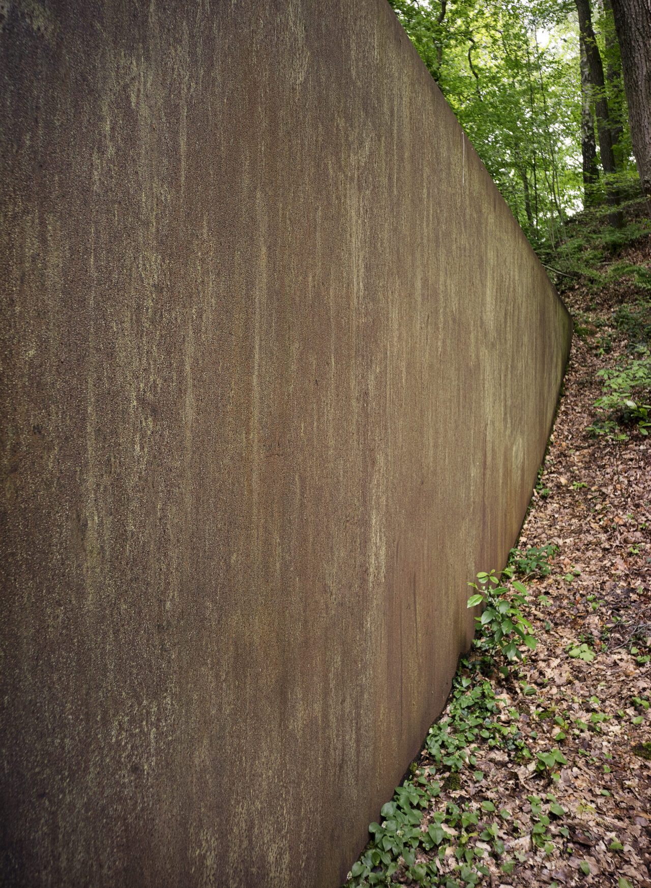 Spin out, for Robert Smithson (1972-1973), Richard Serra