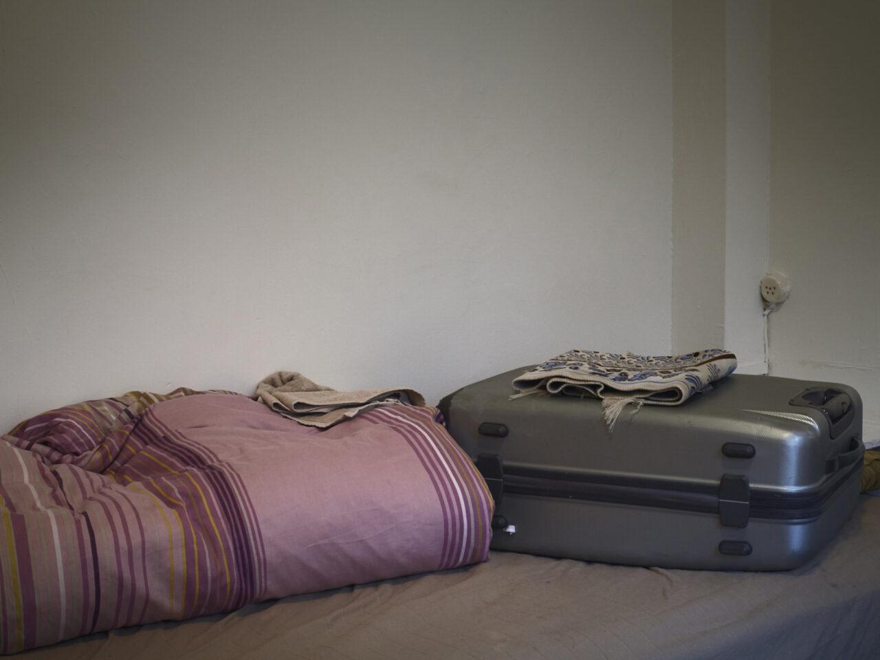 Ali's koffer, tijdelijke opvang gerund door de diaconie, Amsterdam