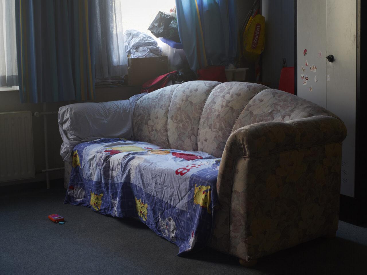 Denny en Angela's kamer, Gezinslocatie voor uitgeprocedeerde asielzoekers met beperkte bewegingsvrijheid, Katwijk