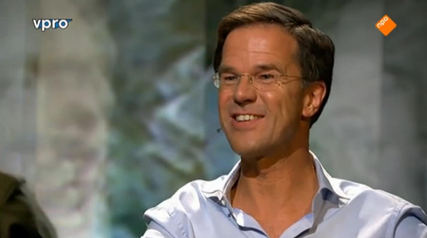 Positivo Rutte voert bij Zomergasten vooral campagne