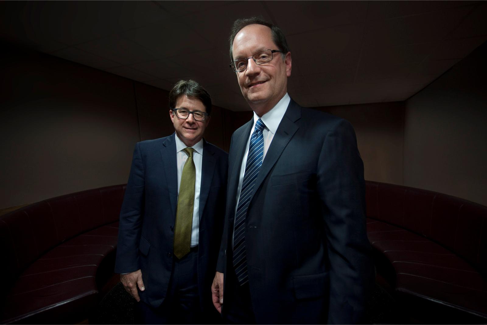 De helden van documentaireserie Making a Murderer: advocaten Dean Strang en Jerry Buting