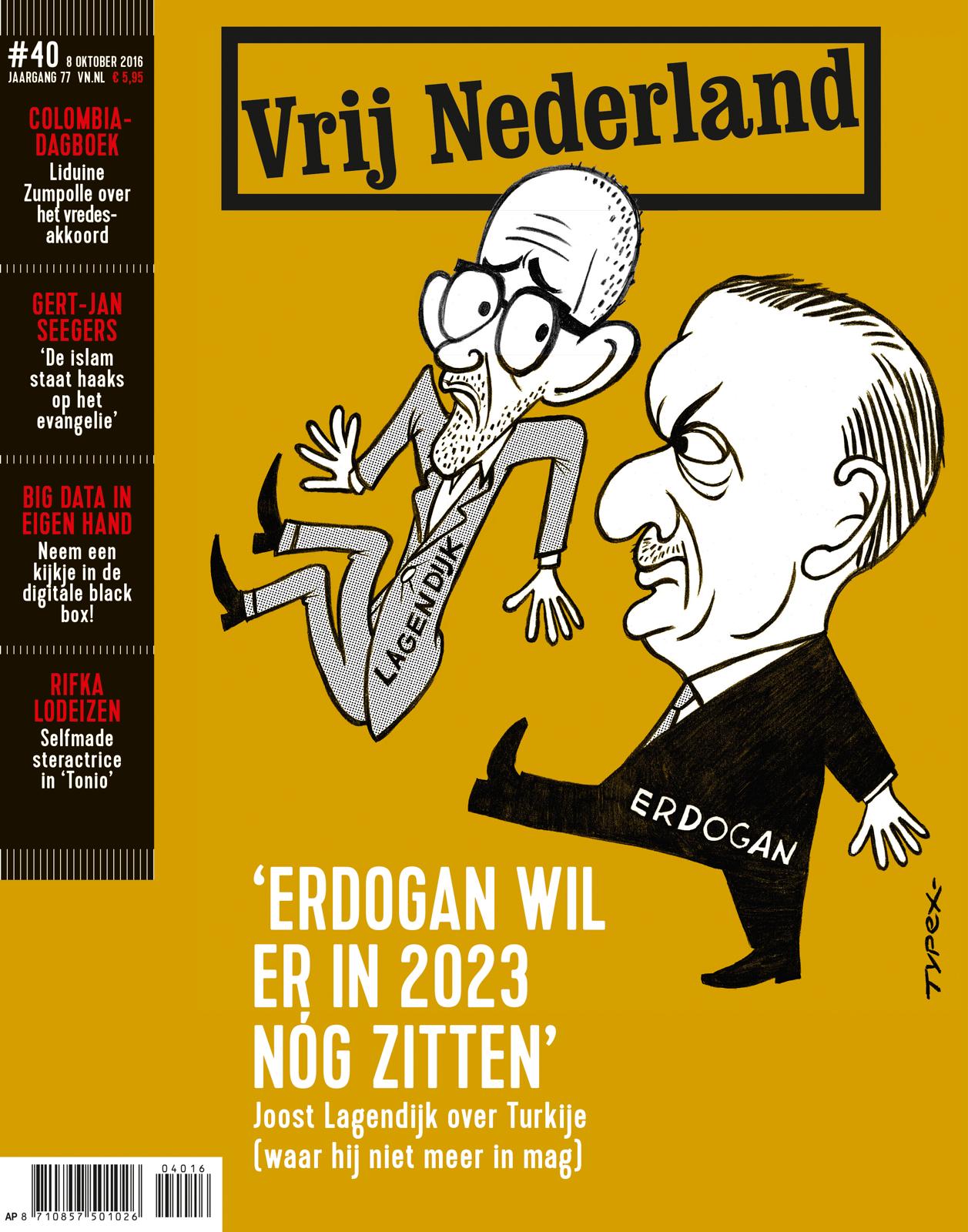 'Erdogan wil er in 2023 nóg zitten'