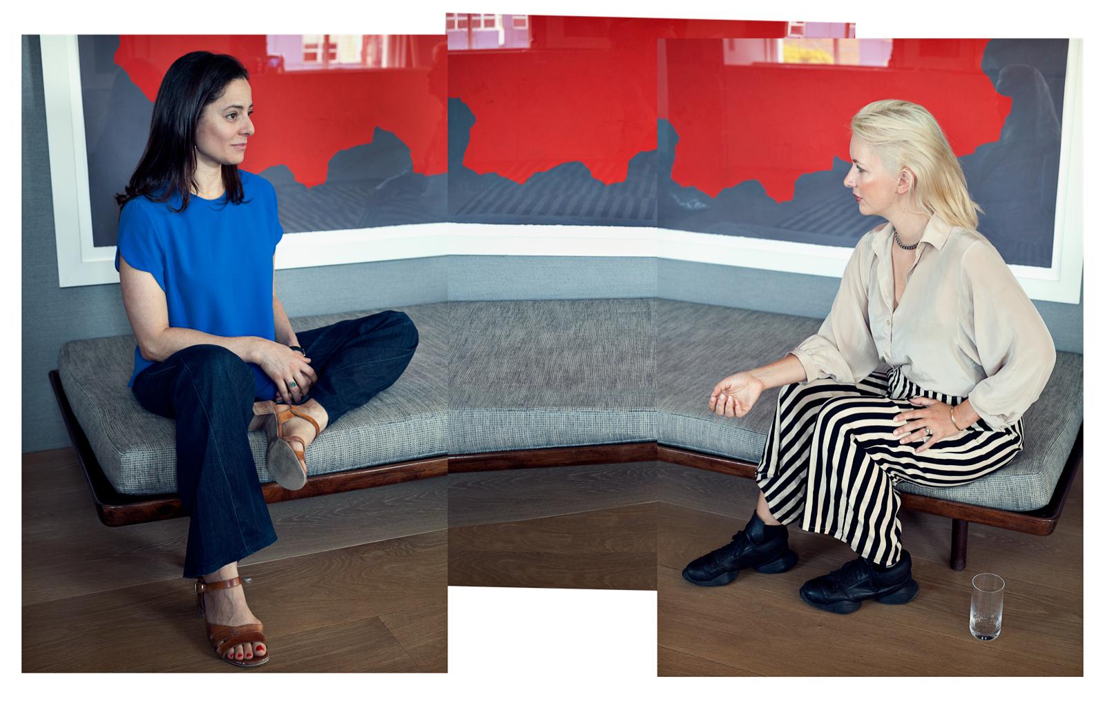 Elfie Tromp interviewt Ariel Levy: 'Het verdriet ligt altijd ergens te wachten'