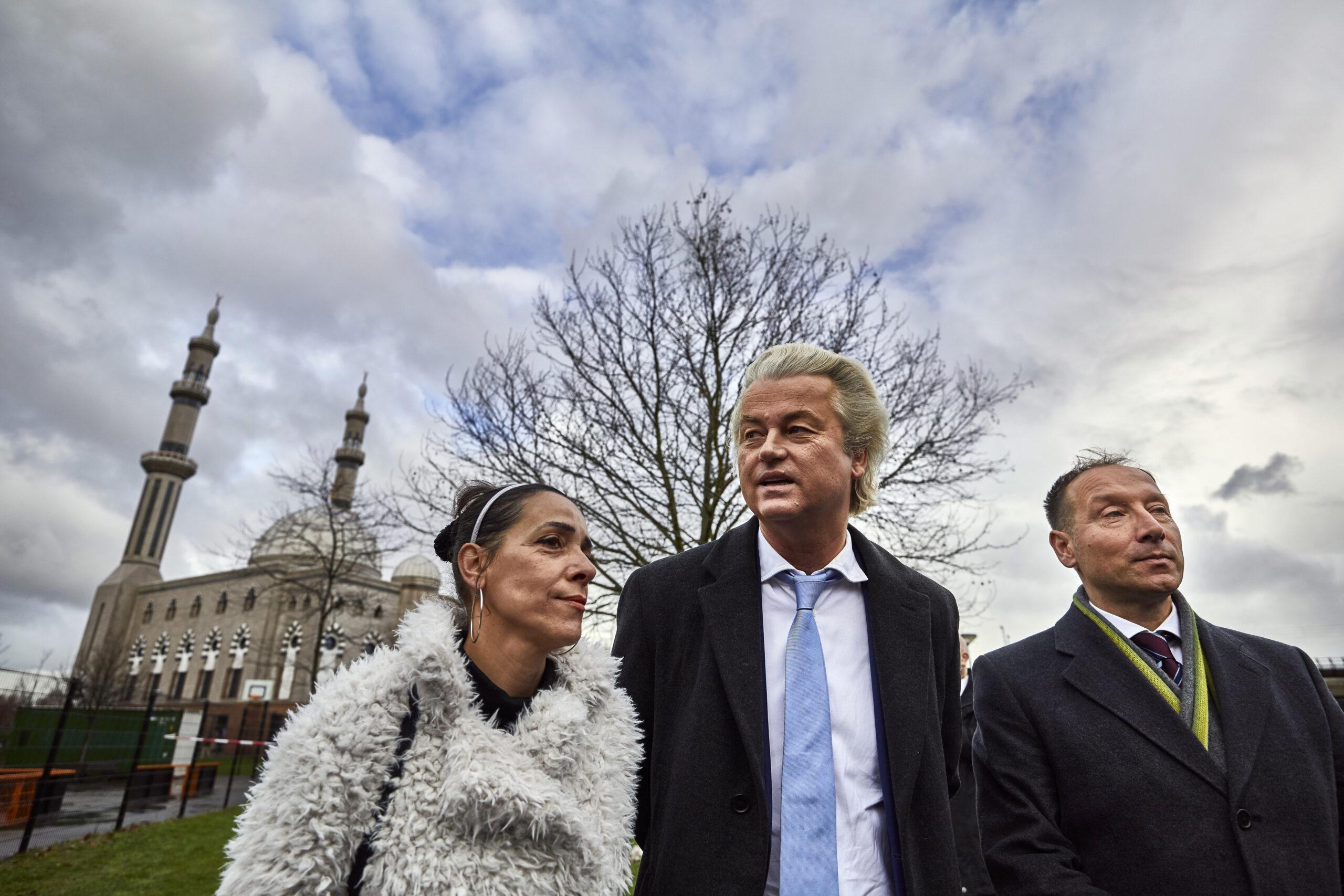 Geert Wilders en Géza Hegedüs