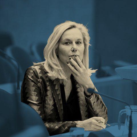 Macht op vrijdag: Opeens zat Sigrid Kaag met een massamoordenaar aan tafel