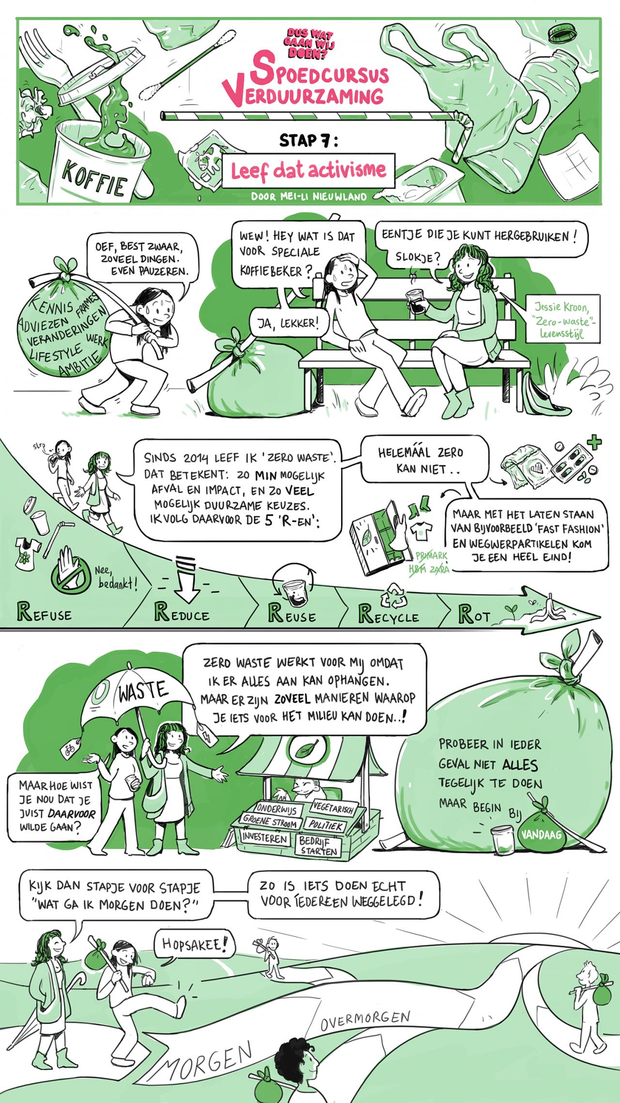 Stap 7: leef dat activisme