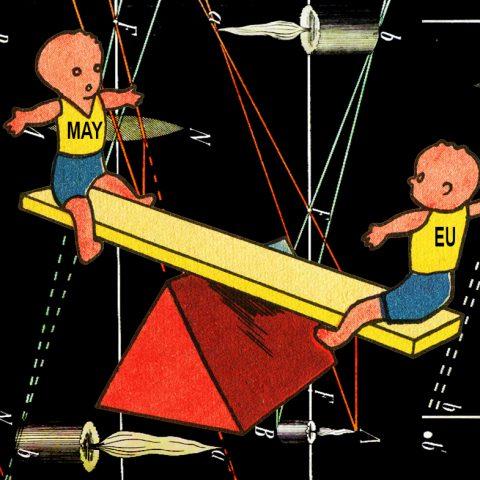 Macht op vrijdag: De 'chicken game', het gestoorde spel van Theresa May en de EU