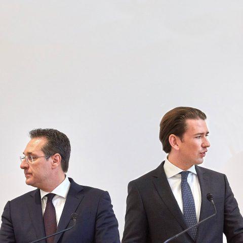 In het steeds rechtsere Oostenrijk heeft de vicekanselier het al over 'omvolking'
