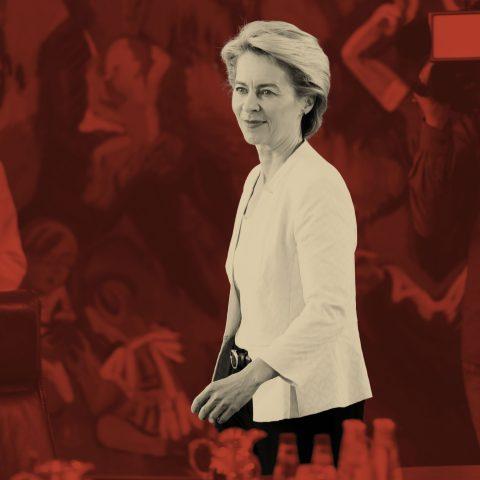 Wat ze aan de talkshowtafels niet vertelden over Ursula von der Leyen