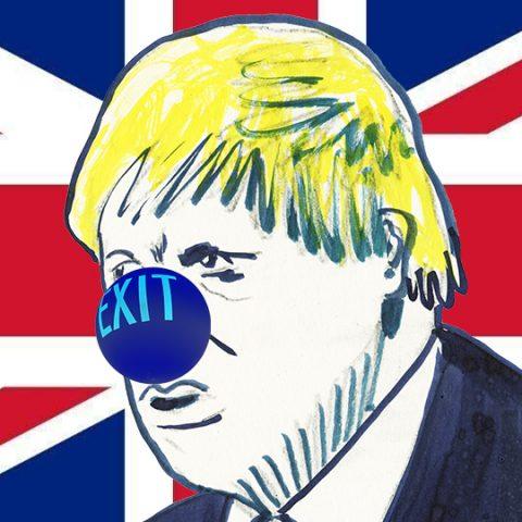 Macht op vrijdag: Een clown aan het roer van de brexit, niet lachwekkend, vooral zielig