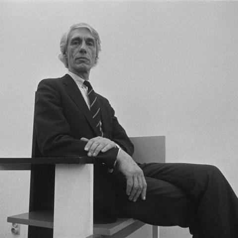 Wim Crouwel (1928-2019): 'Gezellige rommeligheid daar kan ik niet tegen'