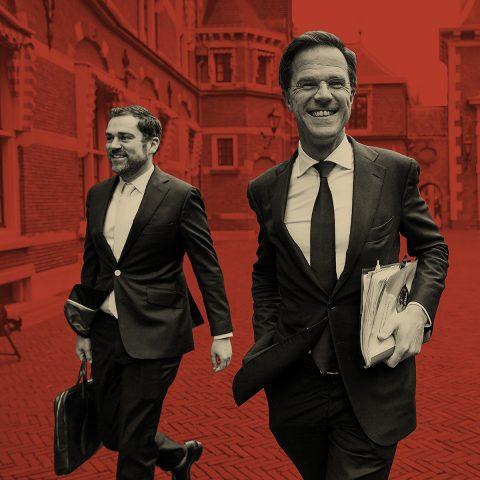 Macht op vrijdag: Exit kroonprins Dijkhoff, koning Rutte blijft nog even