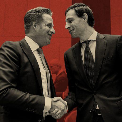 Het was niet de beste week voor ministers Hugo de Jonge en Wopke Hoekstra