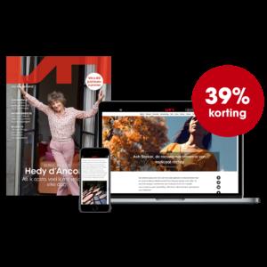 5 nummers Vrij Nederland + online toegang