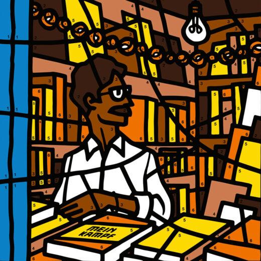 Hoe Hitler in een kleurboek opdook, deel 7: in India ligt Mein Kampf gewoon in de winkels