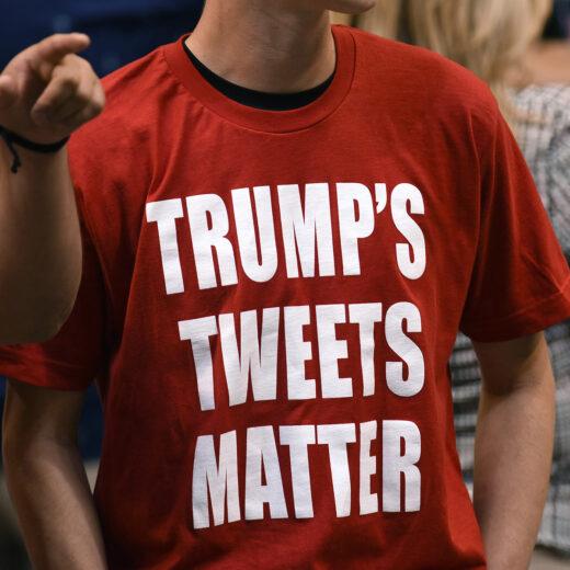 Weer gehackt: Trumps Twitter is nog steeds niet goed beveiligd