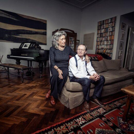 Remco Campert en Deborah Wolf: 'Scrabble is belangrijker dan seks'
