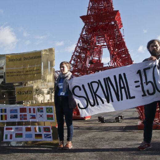 In Parijs: mooie plaatjes, rampscenario's, actiedag!
