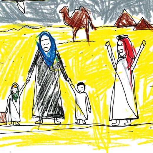 Deze Egyptische kidnapte haar eigen kinderen
