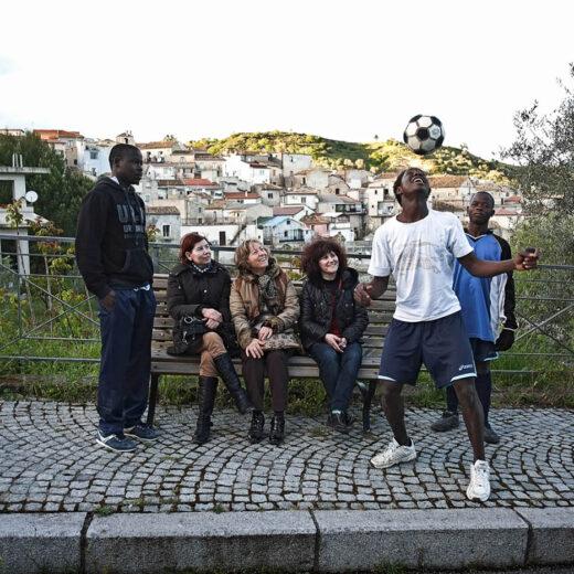 In het Italiaanse Riace zijn alle vluchtelingen welkom