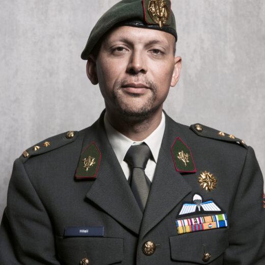 Luitenant-kolonel Mostafa Hilali: 'We moeten ons niet uit elkaar laten drijven'