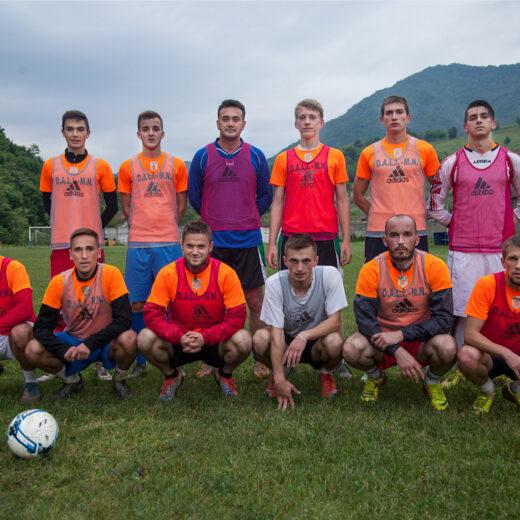 Met voetbal heelt het Bosnische FK Guber de wonden