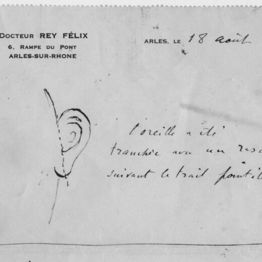 Het staat nu vast: Van Gogh sneed bijna zijn hele oor af