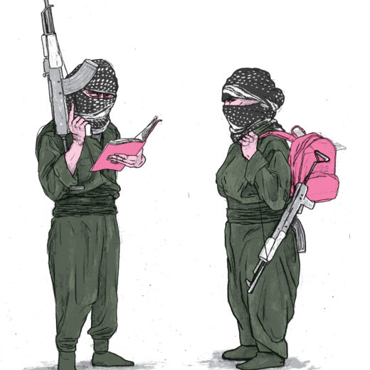 Mijn tijd bij de PKK: drie maanden op taalkamp in een uithoek van Irak