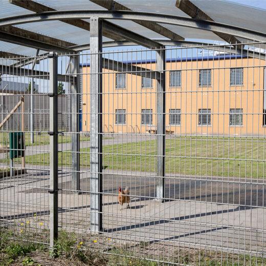 In deze gevangenis in Heerhugowaard hebben gedetineerden een eigen sleutel