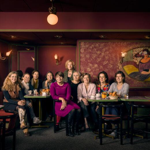 Op de koffie met de topvrouwen van het land: Liel, Lou en de rest