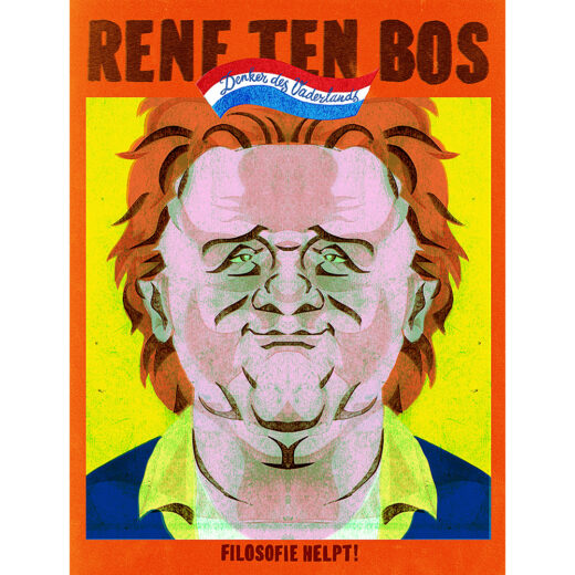 Denker des Vaderlands René ten Bos: 'De wereld is een puriteins bordeel'