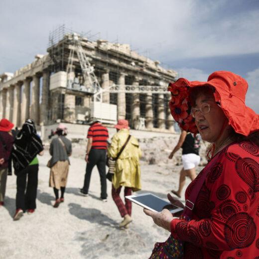 Als toerist gevangen in het centrum van Athene