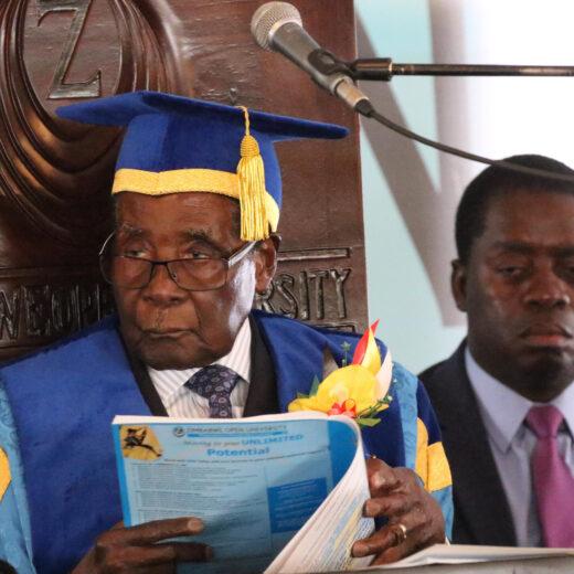 Al wat rest voor Mugabe is een waardig pensioen
