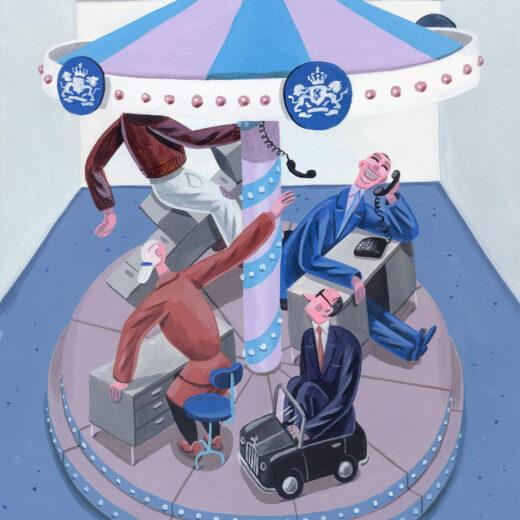 Spelen politici elkaar baantjes toe? Op zoek naar de Haagse banendraaimolen