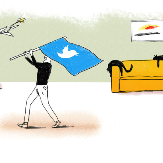 Hoe de boze twitteraar het debat bepaalt