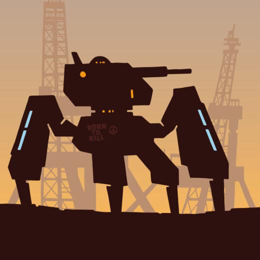 De killer robot klopt aan de deur