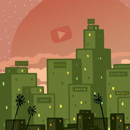 Eerst was YouTube de plek voor kattenfilmpjes. Nu concurreert het met Netflix