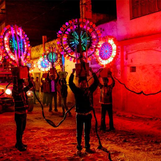 Fotodocument: De politieke teloorgang van India in beeld