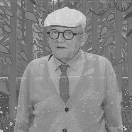 Literaire Kroniek: De vele gedaanten van David Hockney's goede humeur